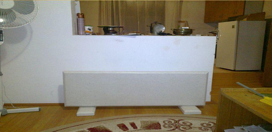 radiator on the podium